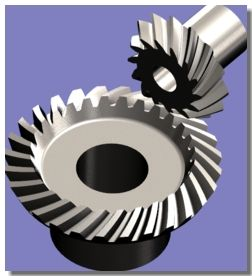 Bevel Gear Using Gear Trax inside SolidWorks