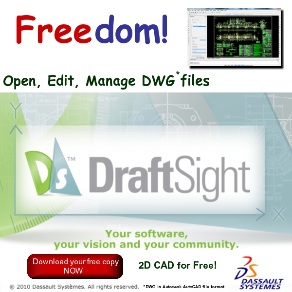 DraftSight - Free 2D CAD Software to Open, Edit & Manage DWG Files - Free Download