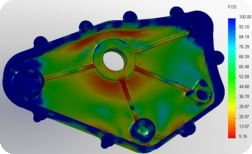 Gear Box Cover Stress Analysis