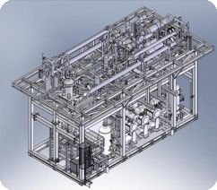 Process Plant Design and Integration using SolidWorks