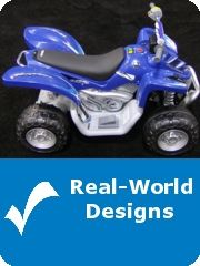 Real World Designs - Products Designed using SolidWorks