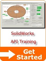 SolidWorks API Training - Getting Started