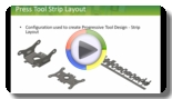 SolidWorks Configurations- Progressive Tool
